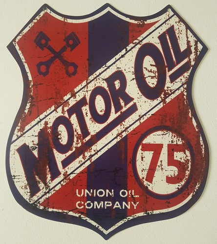 Motor oil union comany uitgesneden