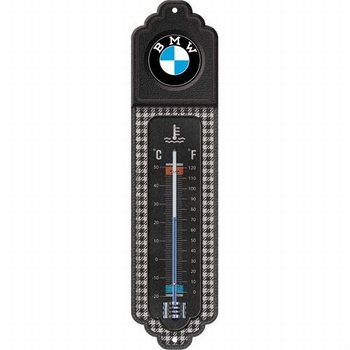 BMW Thermometer logo pepita metalen thermo