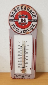 Dads garage thermometer