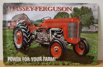 Massey ferguson power for your farm RELIEF