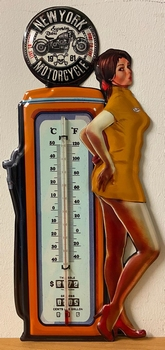 New york motor pin up thermometer xl