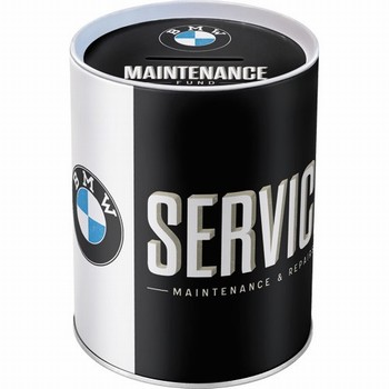 BMW Service maintenance en repair spaarpot metaal