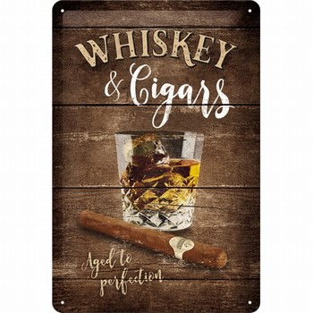 Whiskey and cigars  relief wandbord