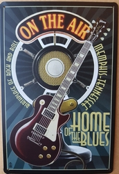 Gitaar on the air home of the blues wandbord