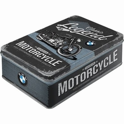 BMW Legends motorcycles superior metalen koekblik vo