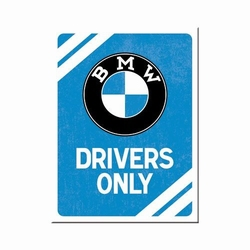 BMW Drivers only magneet