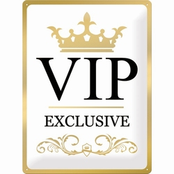 Vip exclusieve special metallic edition gold relief
