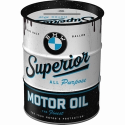 BMW motor oil barrel spaarpot