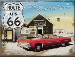 Magneet Mother toad route 66 cadillac