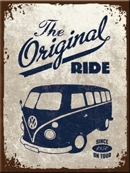 Magneet Volkswagen VW original ride Bus