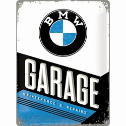 BMW Garage maintenance en repairs reliëf reclamebord