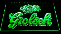 Grolsch led lamp groene led